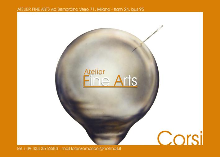 volantino Atelier Fine Arts
